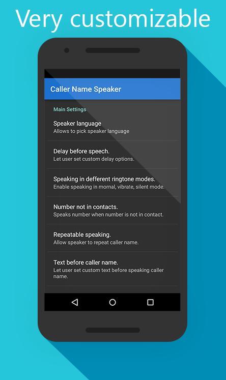 Caller Name Speaker screenshot 4