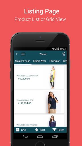 Niftyapp - Magento Mobile App screenshot 4