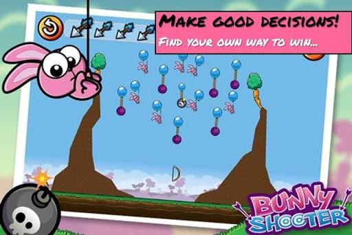 Bunny Shooter Free Funny Archery Game screenshot 4