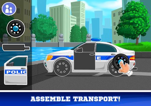 Kids Cars Games! Build a car and truck wash! screenshot 16