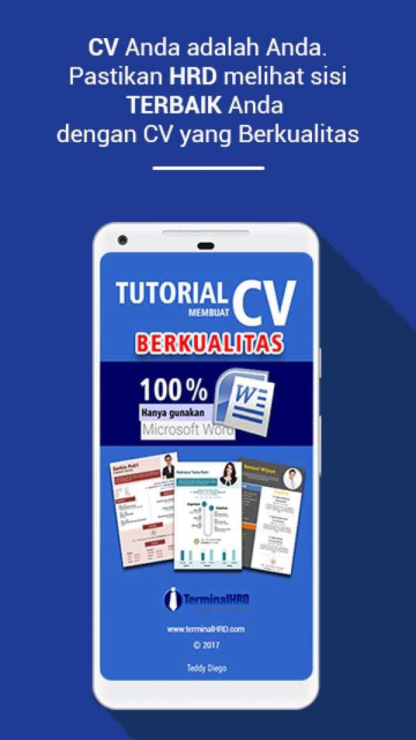 Tutorial CV screenshot 2