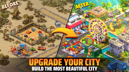 City Island 5 - Tycoon Building Simulation Offline 1 تصوير الشاشة