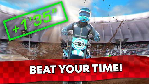Free Motor Bike Racing - Fast Offroad Driving Game screenshot 8