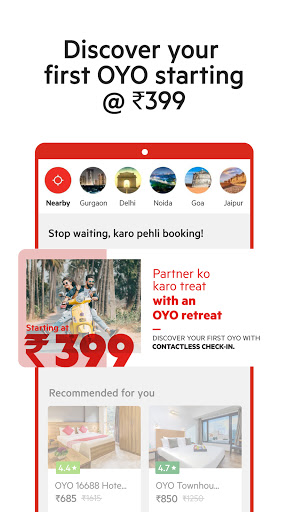 OYO: Book Hotels With The Best Hotel Booking App скриншот 1
