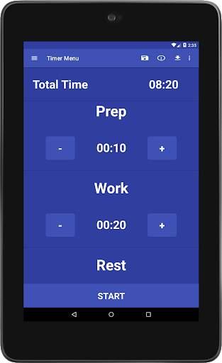 Simple HIIT Interval Timer 14 تصوير الشاشة
