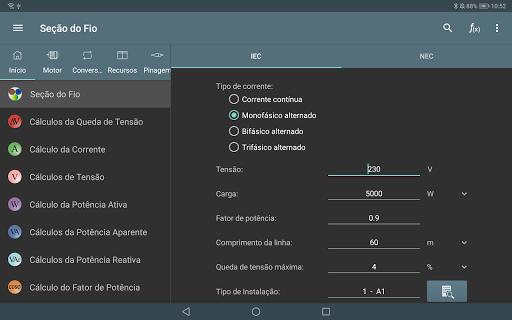 Cálculos Eléctricos screenshot 8
