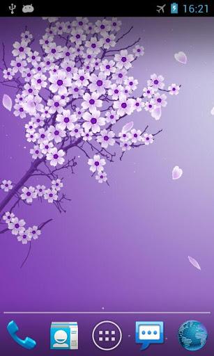 Sakura Live Wallpaper screenshot 5