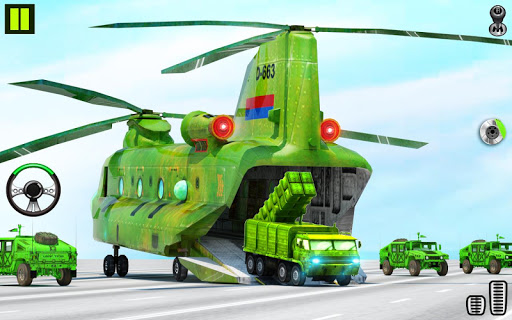US Army Transporter Plane - Car Transporter Games screenshot 3
