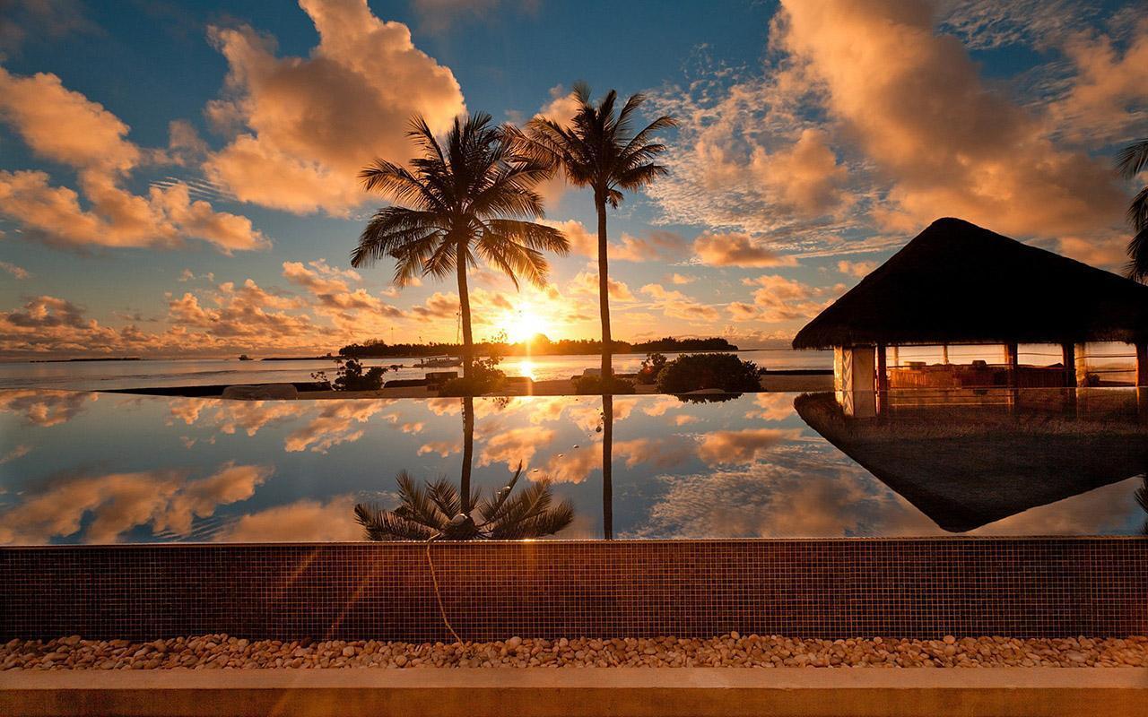 Sunset Live Wallpaper 2 تصوير الشاشة