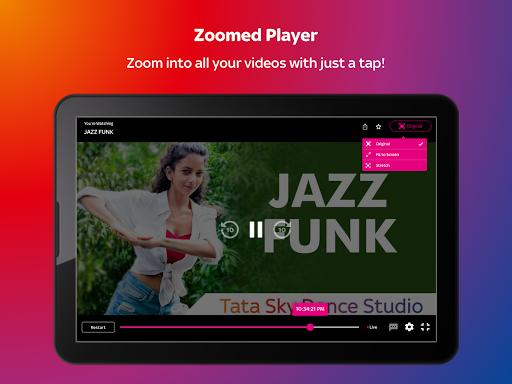 Tata Sky Mobile- Live TV, Movies, Sports, Recharge скриншот 11