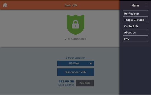 - VPN (Dash VPN) screenshot 8