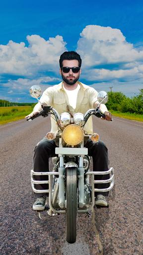Man Bike Rider Photo Editor - photo frame screenshot 4