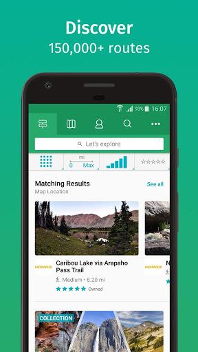 ViewRanger: Trail Maps for Hiking, Biking, Skiing screenshot 1