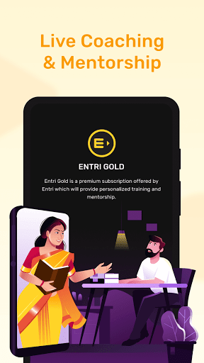 Entri: Learning App for Job Skills 7 تصوير الشاشة