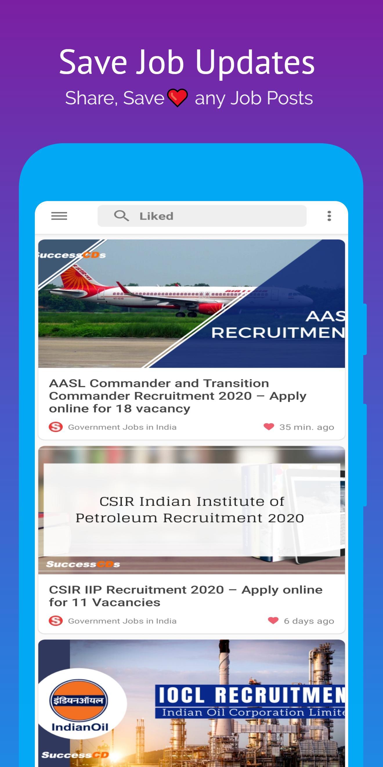 Jobs India: All Government Job Updates, Job Alerts screenshot 8