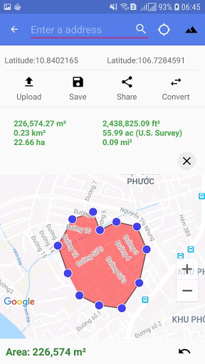 Distance And Area Measurement screenshot 6