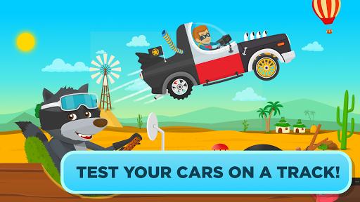 Garage Master - fun car game for kids & toddlers screenshot 6