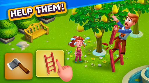 Golden Farm : Idle Farming & Adventure Game screenshot 1
