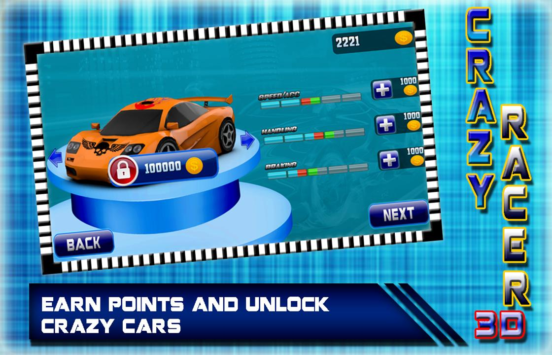 Crazy Car Racing 3D 2017: Rush Hero Driver screenshot 4