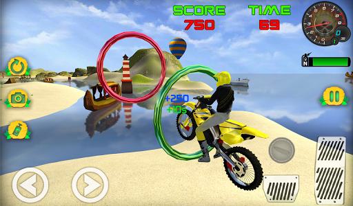 Motocross Beach Game: Bike Stunt Racing screenshot 6