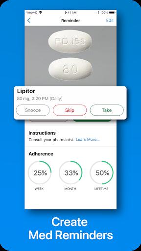 WebMD: Check Symptoms, Rx Savings, & Find Doctors screenshot 2