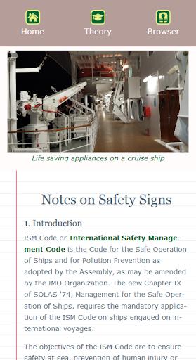 Marine Safety Signs screenshot 8