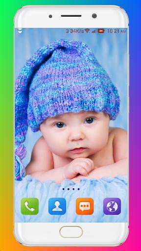 Cute Baby Wallpaper screenshot 9