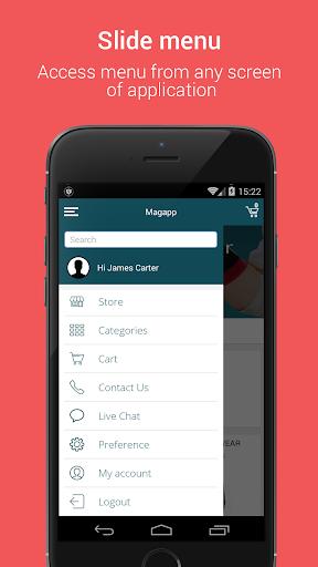 Niftyapp - Magento Mobile App screenshot 3