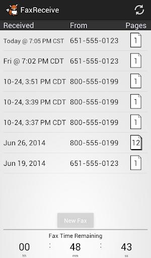 FaxReceive - receive fax phone screenshot 4
