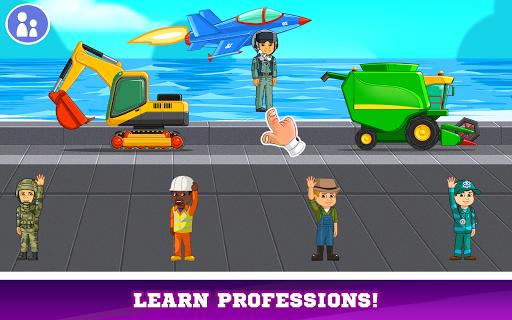 Kids Cars Games! Build a car and truck wash! screenshot 14