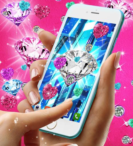 Diamond live wallpaper 6 تصوير الشاشة