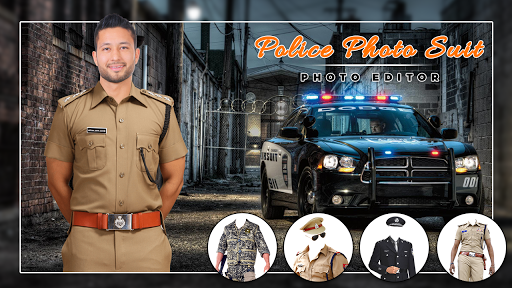 Men Police suit Photo Editor - Police Dresses screenshot 6