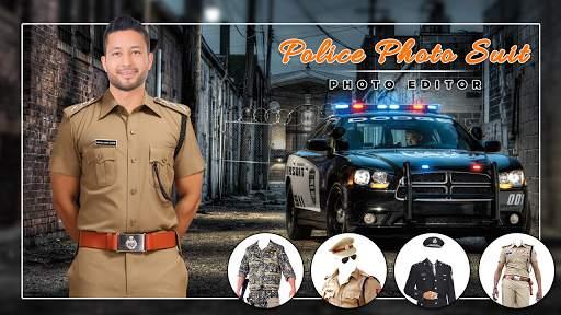 Men Police suit Photo Editor - Police Dresses screenshot 6