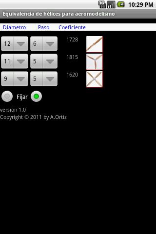 Equivalencia de hélices 2 تصوير الشاشة