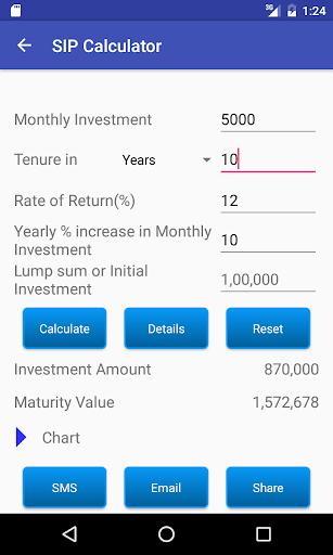 SIP Calculator screenshot 10