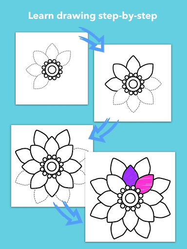How To Draw Flowers скриншот 11