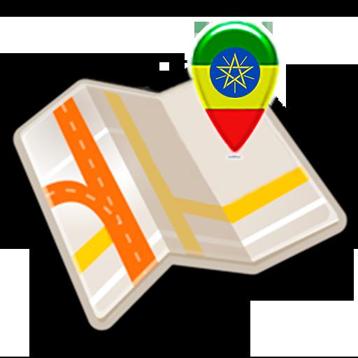 Map of Ethiopia offline icon