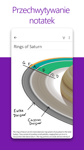 Microsoft OneNote: zapisz pomysły, organizuj notki screenshot 1