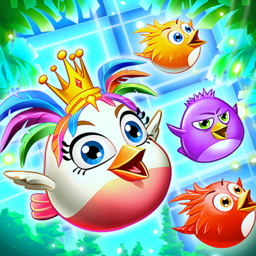 Birds Pop Mania: Match 3 Games Free أيقونة