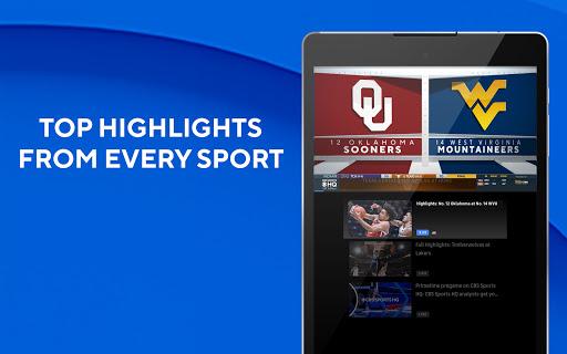 CBS Sports App - Scores, News, Stats & Watch Live 10 تصوير الشاشة