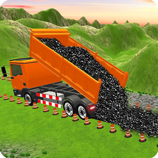 Highway Construction Road Builder 2020- Free Games icon