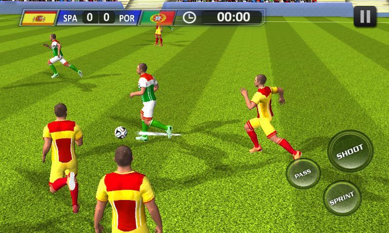 Real Football 2018 1 تصوير الشاشة