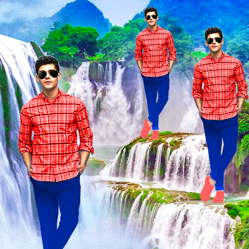 Waterfall Photo Editor and Photo Frames أيقونة