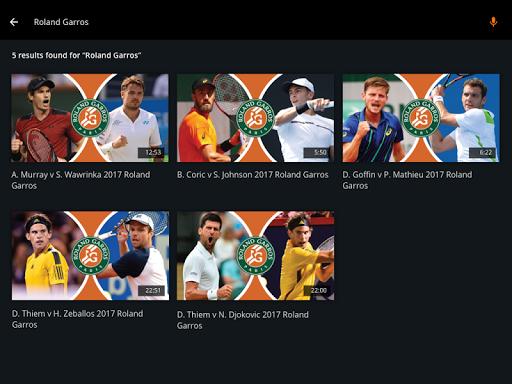 Tennis Channel 8 تصوير الشاشة