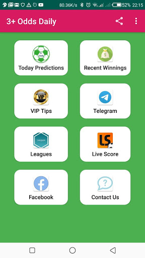 3  Odds Daily-Accurate & Free soccer predictions screenshot 1