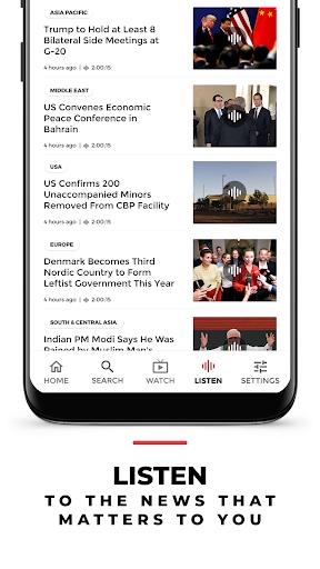 VOA News 4 تصوير الشاشة
