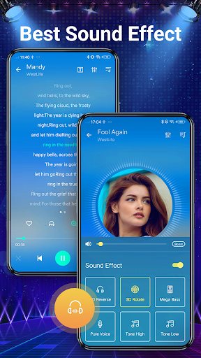Music player - 10 bands equalizer Audio player screenshot 7