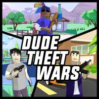 Dude Theft Wars: Open world Sandbox Simulator BETA on 9Apps