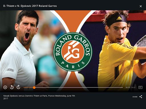 Tennis Channel 10 تصوير الشاشة