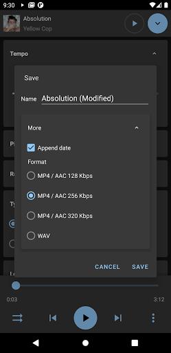 Music Speed Changer screenshot 4